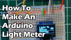 Arduino Light Meter Photography How To Make An Arduino Light Meter