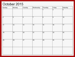 Printable Calendar 2015 Monthly October 2015 Calendar 02 At Printable Monthly Calendar