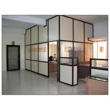 aluminum office partitions. Aluminum Office Partition At Rs 200 /square Feet | - Sadhana Infra \u0026 Interiors, Hyderabad ID: 10427547991 Partitions S