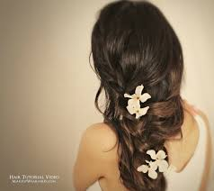 Braids Hairstyles Tumblr 2 Most Romantic Curly Half Up Hairstyles Updos Hair Tutorial Video