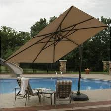 Portable Patio Covers Finding Santorini Ii Cantilever Umbrella