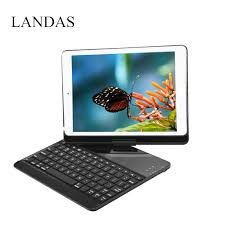 <b>Landas Case For IPad</b> Air 2 Tablet Keyboard 9.7 Inch 360 Rotation ...