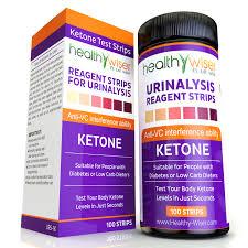 True Plus Ketone Test Strips Color Chart Ketone Strips 100ct Professional Grade Ketone Urine Test Strips 99 Accuracy Walmart Com