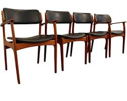 benny linden chairs best of set of six erik buch teak dining side chairs by od