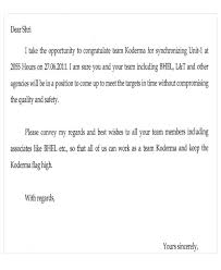 sample of appreciation letter appreciation letter templates 5 free sample example format