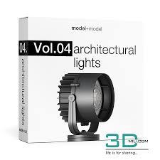 Model Plus Model Vol 4 Architectural Lights 3d Mili