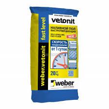 Ровнители и стяжки для <b>пола</b> Weber <b>Vetonit</b> купить по низким ...
