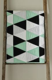 Quilted Baby Blanket Patterns | Blanket Decoration & 25+ unique Navy quilt ideas on Pinterest | Modern quilt patterns ...  craftyblossom: mint and licorice :: a baby quilt. Adamdwight.com