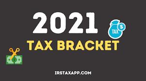 2021 irs tax bracket internal revenue