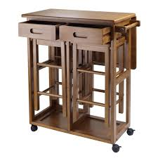Small Kitchen Table Amazoncom Winsome Space Saver With 2 Stools Square Kitchen