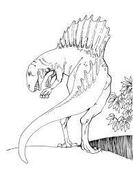 Spinosaurus Theropod Dinosaurus Kleurplaat Gratis Kleurplaten Printen