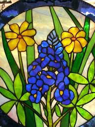 large stained glass window hangings stained glass window hangings stained glass blue bonnet hanging panel stained