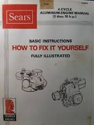 Details About Sears Tecumseh 3 To 10 Hp Aluminum Engine Repair Service Manual H80 V60 Hm100