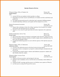 Resume For First Internship Format Of Resume For Internship Students Fresh Sample First Year 10