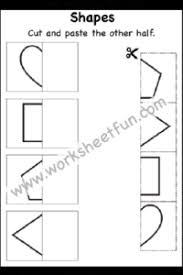 Cut and paste shape worksheet. Cut And Paste Worksheets Free Printable Worksheets Worksheetfun