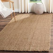 safavieh natural fiber hand woven natural jute area rug 5 x 8