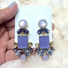 kate spade yellow chandelier earrings spade gold tone purple chandelier earrings small chandeliers for low ceilings