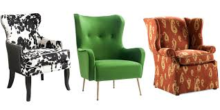 wingback office chair furniture ideas amazing. Ideas Of Wing Back Chairs Neo Upholstered Wingback Office Chair Ebay Cute Furniture Amazing