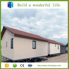 low cost prefabricated steel frame house eps concrete houses made in china