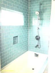 glass subway tile bathroom blue glass subway tile mosaic bathroom floor grey subway tile bathroom the