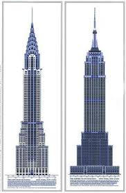 architectural drawings of skyscrapers. Perfect Skyscrapers U0027the Chrysler Building And The Empire State Buildingu0027  P Kent Fairbanks  Architectphotographer Historical Architectural Drawings With Architectural Drawings Of Skyscrapers E