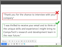 Thank You For Scheduling The Interview How To Respond To An Interview Invitation 10 Steps