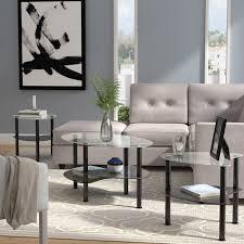 Wade Logan Clint Coffee Table Set & Reviews
