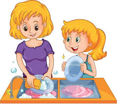 boy washing dishes clipart. Unique Clipart Dish Clipart Washed With Boy Washing Dishes Clipart