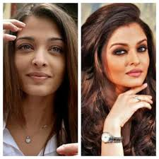 top 22 indian celebrities without makeup 5 aishwarya rai1 top 10 beautiful stani before and after