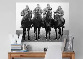 notre dame fighting irish four horsemen fathead wall mural