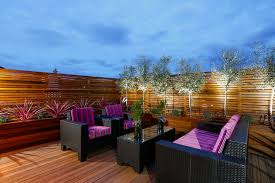 outdoor terrace lighting. Outdoor Terrace Lighting. Lighting With Contemporary Lounge Chairs Deck Eclectic And Coffee Table