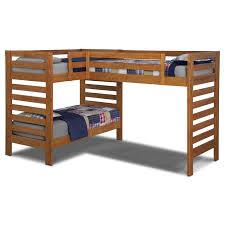 image of unique l shaped bunk beds design