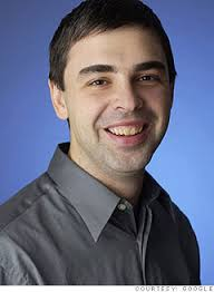 "Larry Page, co-founder and CEO of Google. Schmidt will take the role of Executive Chairman so that he can focus on ""deals, partnerships, customers and ... - larry_page"