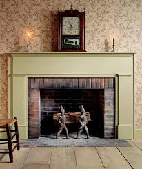 image of modern fireplace mantel decorating ideas