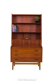d211 danish børge mogensen teak bureau desk book shelf retro mid century