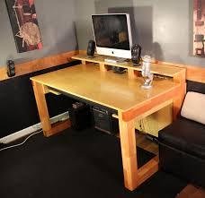 how to build office desk. How To Build A Rustic Office Desk Tos DIY Regarding Plan 3