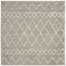 grey accent rugs awesome safavieh berber tribal light grey cream ivory rug 5 1 of