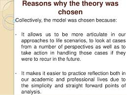 collaborative task gibbs model of reflection 7 conclusion to recap this evening we looked at gibbs model of reflection