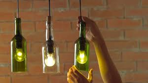 How To Make Pendant Lights From Wine Bottles Diy How To Make Wine Bottle Pendant Lights Livin Spaces