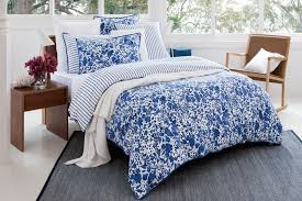 image of blue queen duvet cover sets