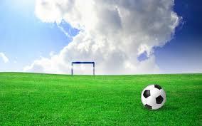 green grass football field. Football Field Grass Green -
