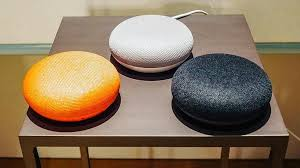 google home and office. google home mini and office