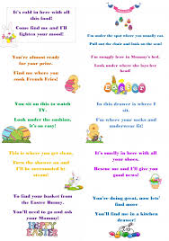 word easter egg make this easter egg stra special with egg hunt riddles
