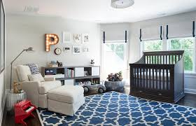 ... Blue and gray used to shape the gorgeous nursery [From: Kas Arts  Photography]