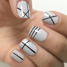 Geometric lines nail art design | Nail Art | Pinterest | Manicure ...