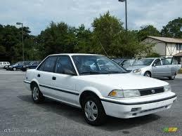 1992 Super White Toyota Corolla DX Sedan #19755972 Photo #7 ...