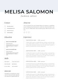 Professional Resume Template For Mac Resume For Pages And Word