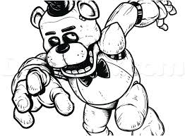 Fnaf Golden Freddy Drawing At Getdrawingscom Free For Personal
