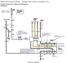 ford f350 trailer wiring diagram ford trailer plug wiring diagram F350 Trailer Wiring Diagram #39