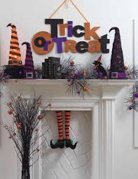 Witch Decorating Decorating With Halloween Witchs Legs
